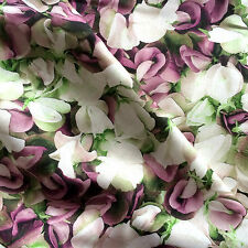 Pure Linen fabric Sweet Pea Floral - Digital print - Apparel Fashion Clothing