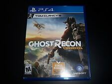 Replacement Case (NO GAME) GHOST RECON THE WILDLANDS PlayStation 4 PS4 Box