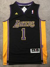 D'Angelo Russell Los Angeles Lakers Hollywood Nights Jersey Size Medium