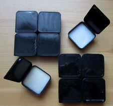 10 Stück Pillendosen Plastikbehälter Döschen m. Deckel Behälter Dose Klappdeckel