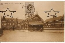 Photo/reproduction CPA - FELUY - La gare et l'Hôtel des Postes
