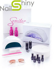 SEMILAC Starter Set KIT Flexible 24/48 W LED NAILS LAMP + free UK socket & GIFT