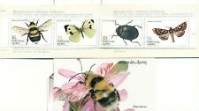 API, INSETTI & FARFALLE - INSECTS AZORES 1984 booklet