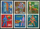 West Germany 1970 SG#1529-34 Voluntary Relief Services MNH Set #D474