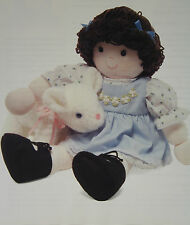 Little Bo Peep and her Sheep, Rag Doll Sewing Pattern