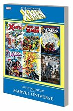 UNCANNY X-MEN: OFFICIAL INDEX TO THE MARVEL UNIVERSE TPB Comics Reference GN TP