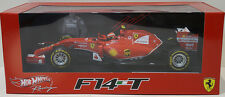 1:43 FERRARI F14-T #7 Kimi Raikkonen 2014 Hot Wheels Racing BLY70 NEW Sealed
