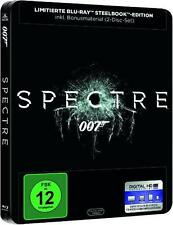 James Bond 007: SPECTRE (Daniel Craig, Christoph Waltz) Blu-ray Disc, Steelbook