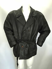OLD BROWN PELLE LEDER LEATHER  Giubbino Jacket Coat Giubbotto Tg 46 Man Uomo G2