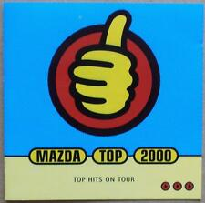 MAZDA Top 2000 Hits on Tour-Jackie Wilson, Amil Steward tra l'altro-CD
