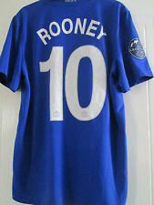 Manchester United 2008-2009 Rooney CL AWAY Football Shirt Adult Medium /40504