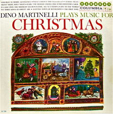 MUSIC FOR CHRISTMAS: DINO MARTINELLI AND ORCHESTRA 12 SELECTIONS HARMONY 33 LP