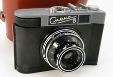 *RAREST* 1960 Smena-8 Russian Soviet USSR LOMOGRAPHY LOMO Compact 35mm Camera 8m