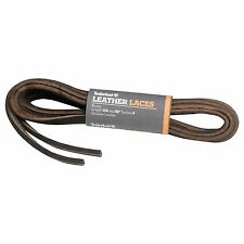 TIMBERLAND REPLACEMENT LACES RAWHIDE SEAWEED BROWN LEATHER FLAT SHOELACES 52in