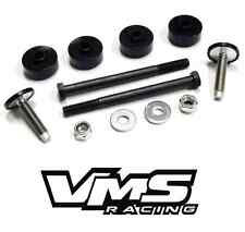 VMS 97-04 CHEVROLET CHEVY CORVETTE VETTE C5 FULL LOWERING KIT F/R BOLTS BUSHINGS