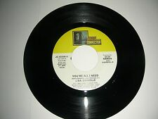 Rare Soul 45 Lisa Danielle - You're All I Need Jersey Connection Records NM 1984