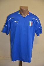 ITALY NATIONAL TEAM 2010 WORLD CUP PLAYER ISSUE HOME FOOTBALL SHIRT JERSEY PUMA