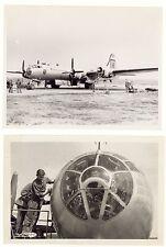 2 Foto aereo B-29 - 98° Gruppo Bombardamento guerra di Corea - secondo lotto