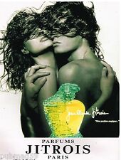 Publicité Advertising 1990 Parfums Jitrois