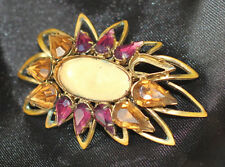 Retro Vintage Brooch Pin with Rhinestones DIY