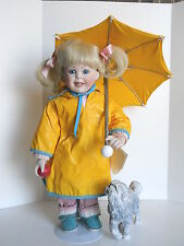 RAINY DAY PALS DOLL  HAMILTON COLLECTION  ARTIST ZOLAN
