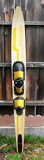 O'BRIEN VIP SLALOM WATER SKI 170CM WITH BINDINGS SIZE XL CONCAVE BOTTOM