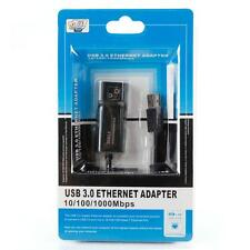 New USB 3.0 RJ45 to USB Ethernet 10/100/1000Mbps Network Adapter Converter