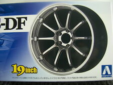 AOSHIMA 09017/NO.146 ADVAN RACING RS-DF 19 INCH TIRE & WHEEL SET 1/24 Scale