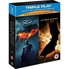 Batman Begins & The Dark Knight Triple Play DVD Set