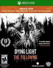 Dying Light The Following Enhanced Edition Microsoft Xbox One Complete in case
