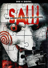 SAW 1 , 2 , 3 , 4 , 5 , 6 & 7 rare Unrated Horror dvd Set TOBIN BELL Ln