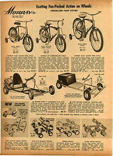 1962 PAPER AD Berbro Mark IV Go Cart 2.5 HP Electra Car Electric Murray Bicycle