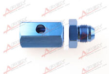 8AN 8 AN Aluminum Fuel Cell Safety Roll Over Vent Valve In Tank Mounted Blue