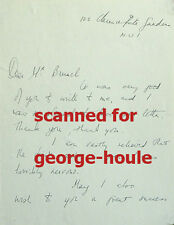YVONNE MITCHELL-AUTOGRAPH LETTER-SIGNED -ADRIAN BRUNEL-OSCAR WILDE-COLETTE