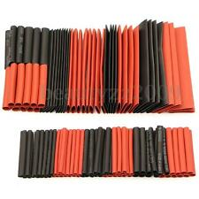 127Pcs 2:1 Heat Shrink- Assortment Wire Wrap Electrical Insulation Sleeving Tube