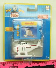 Thomas & Friends ~ Take Along Thomas Harold The Helicopter + Trading Card