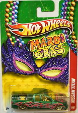 HOT WHEELS 2010 MARDI GRAS NISSAN TITAN #1/6