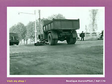 PHOTO DE POLICE CONSTAT D'ACCIDENT 1956, CAMION CONTRE CYCLO  -J70