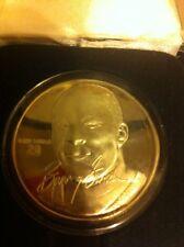 Barry Sanders Highland Mint Limited Edition Troy Silver Detroit Lions HOF /7500
