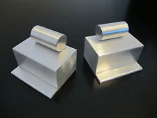 Custom Pair Aluminum Side Step Box Air Tank for Tamiya 1/14 Semi King Hauler