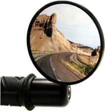 """Oberon 75mm Steetfighter Bar End Mirror for 7/8"""" bar - BLACK - NEW one mirror"""