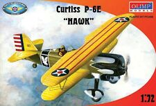 Avion US. CURTISS HAWK P6E - Kit OLIMP MODELS 1/72 n° 72006