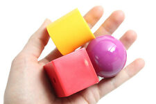 "Jumbo Plastic Beads - 1.5"" - 1.75"" - Giant Colorful Beads for Young Toddlers OT"