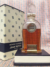 Vintage 1940s !! Moment Supreme 1.7 oz 50 ml PURE PARFUM Jean Patou OLD FORMULA
