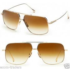 Luxury 18K gold colour premium aviator sunglasses with UV400 gradient lenses