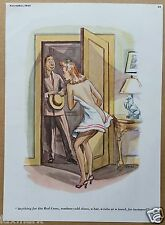 Esquire Magazine Cartoons by Jeff Keate & Howard Baer - November 1941...