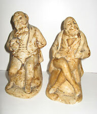 Mr Micawber and Mr Pickwick Book Ends