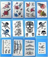 10 sheets temporary tattoo body sticker wholesale tribal tramp stamp
