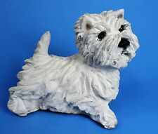 RON HEVENER WEST HIGHLAND WHITE TERRIER (WESTIE) FIGURINE MINT