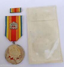 Rumanien Medaille zur Erinnerung an die Proklamation der Republik vor 25 Jahren